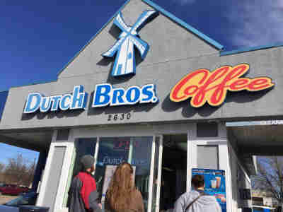 Ducth Bros. Coffe In Gilbert on Val Vista Road