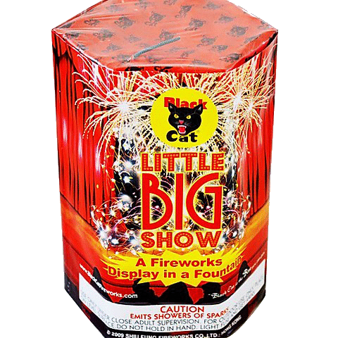 Little Big Show Black Cat Fireworks